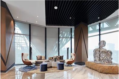 【印象空间】沣东地产西安沣华熙城营销中心