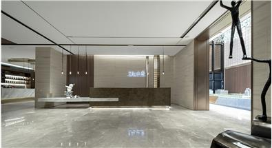 尚石设计丨中南蚌埠江山府销售中心