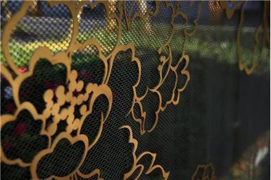 蝶舞艺境——绿地香港昆明巫家坝壹号展示区景观软装