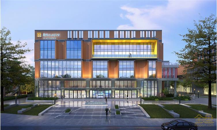 华润生命科学园一期改造方案西侧展厅入口.jpg