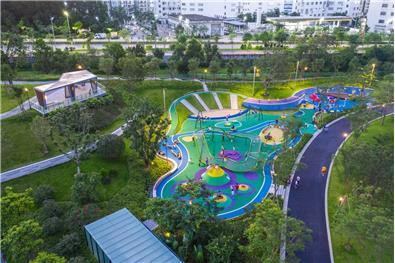 中森觀瀾白鴿湖文化公園