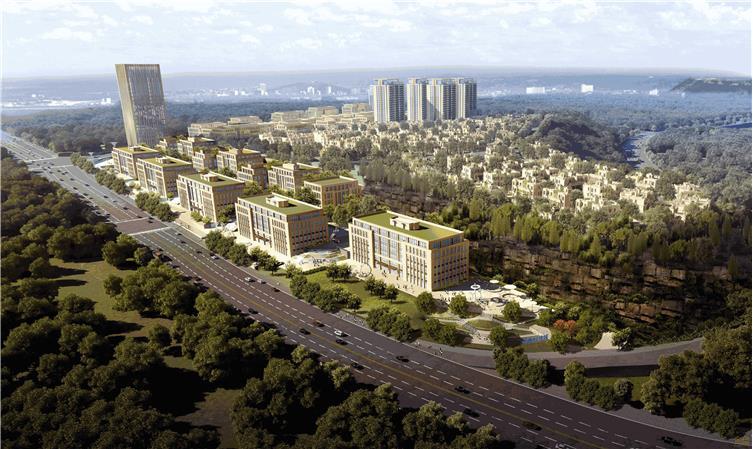 重庆两江健康科技城产业品牌馆