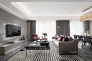 GND設計|卓越杭州灣樣板間:當經典時尚漫延,BURBERRY全新演繹高級空間