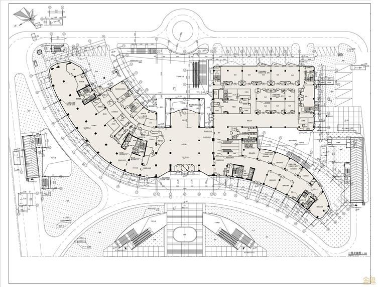 D:\设计管理部-lcj\01-厦门公司\09-评奖事项\20190724上传资料-整合后\20190724上传资料-整合后(压缩后)\01-设计图\04-平面图剖面图\01-酒店一层平面图.jpg