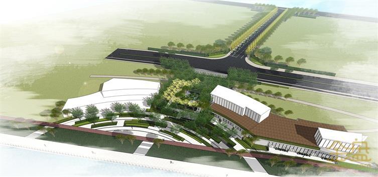 宁波·万科·CORNICHE滨河道示范区