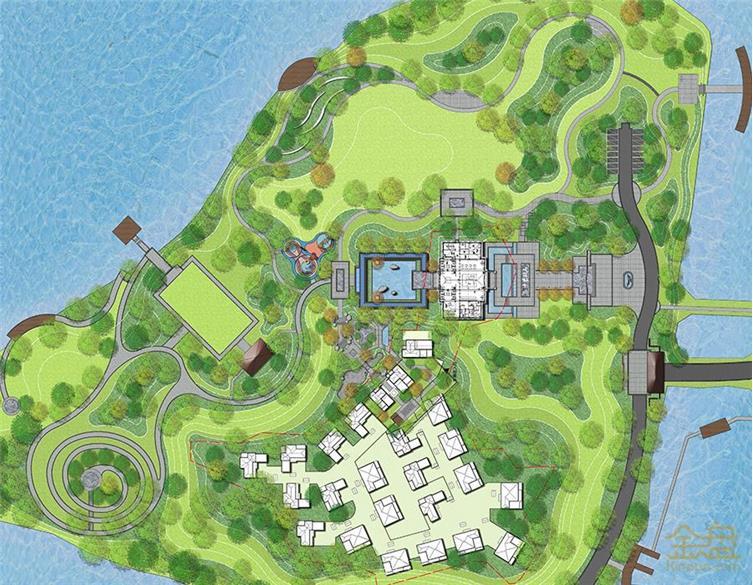 南阳建业·十里湖山一期示范区