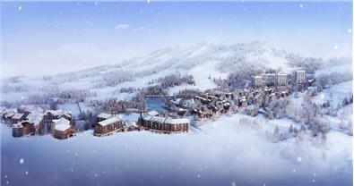 吉林万科松花湖滑雪场青山墅