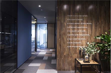地勝設計|天津金融街金融集A座辦公樣板層