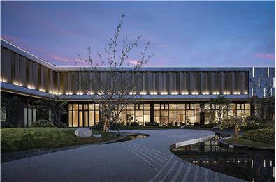 尚石设计丨弘阳·襄御澜庭销售中心