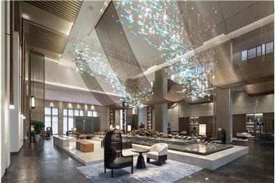 J&A杰恩设计 上海三甲港绿地铂瑞酒店空间设计