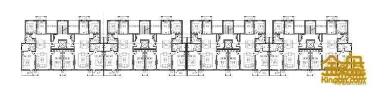 中高层住宅标准层平面图.jpg