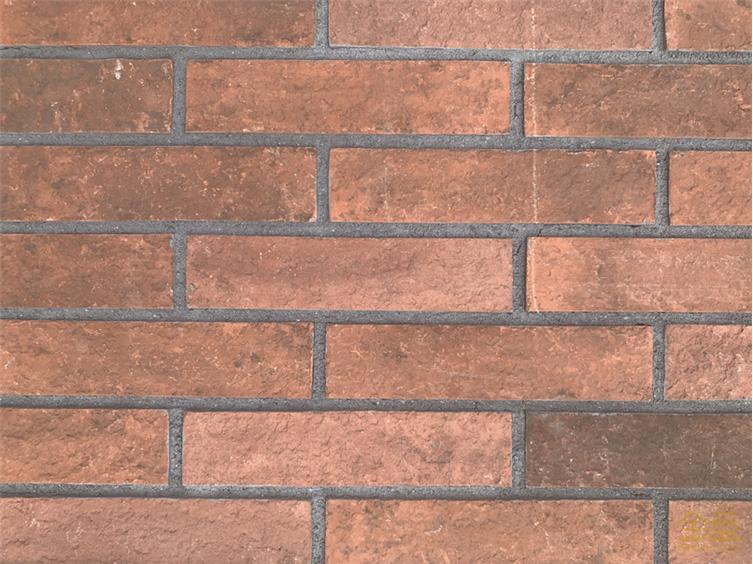 三色混面砖