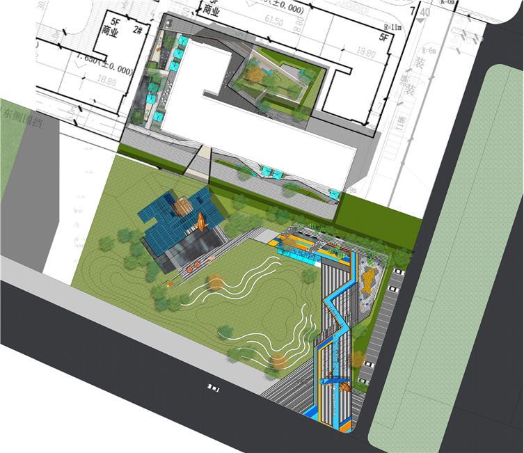 碧桂园云河PARK示范区景观设计