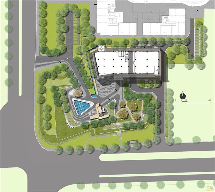 北京顺义首创公园城