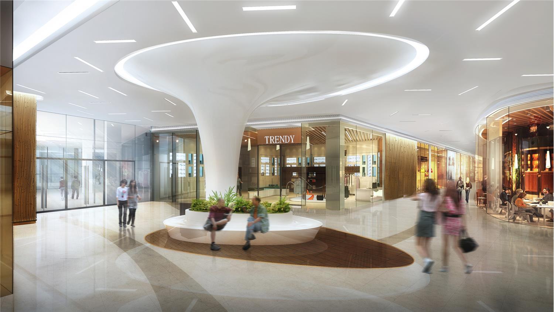 宁波宝龙广场室内设计