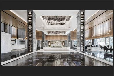 尚石设计丨旭辉·武汉江山境销售中心