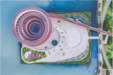 长沙正荣梅溪紫阙台城市岛文化体验中心空间