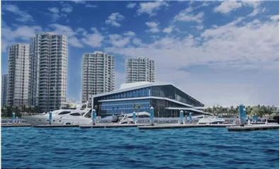 雅居乐清水湾游艇会和艺展中心旅游度假区