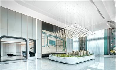 伊派设计丨售楼处设计丨现代轻奢,依山傍水,择此一城!