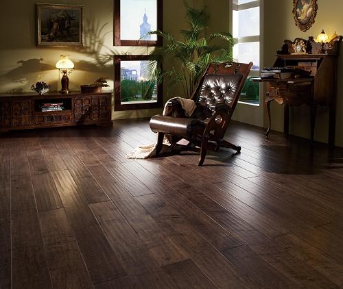 楓木手刮木地板