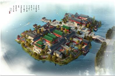 贵阳中天假日方舟售楼岛(H-01)