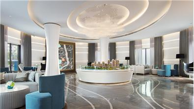 珠海·世榮尚觀花園營銷中心設計