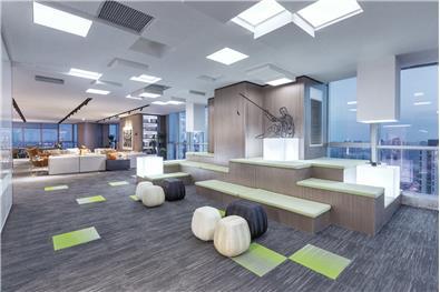 招商江湾国际中心丨办公展示区丨殊众设计