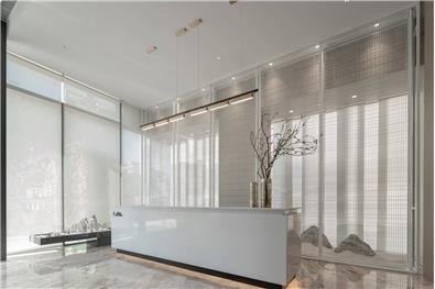 用當代簡約精神重塑東方文化的韻律之美|540m2售樓處|殊眾設計