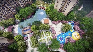 永州市海湘華府景觀設計