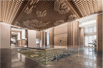 中國濟南●綠地國際博覽城首開示范區售樓處軟裝工程