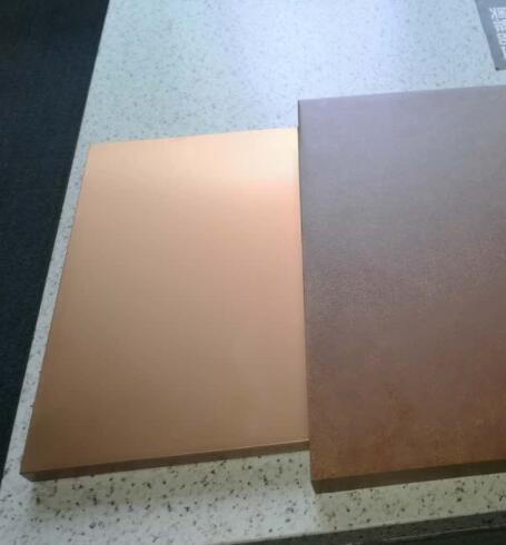 古铜色铝单板
