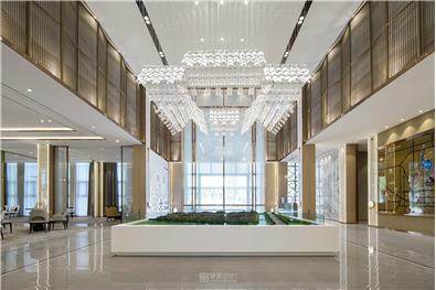 中建·玖棠府营销中心设计丨宅庭院落,星灿道旁