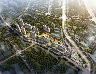 阳光城乌鲁木齐北湾街项目