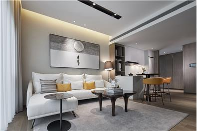成都保利天悦项目95户型精装修公寓样板
