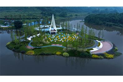 重庆双福蓝光鹭湖长岛
