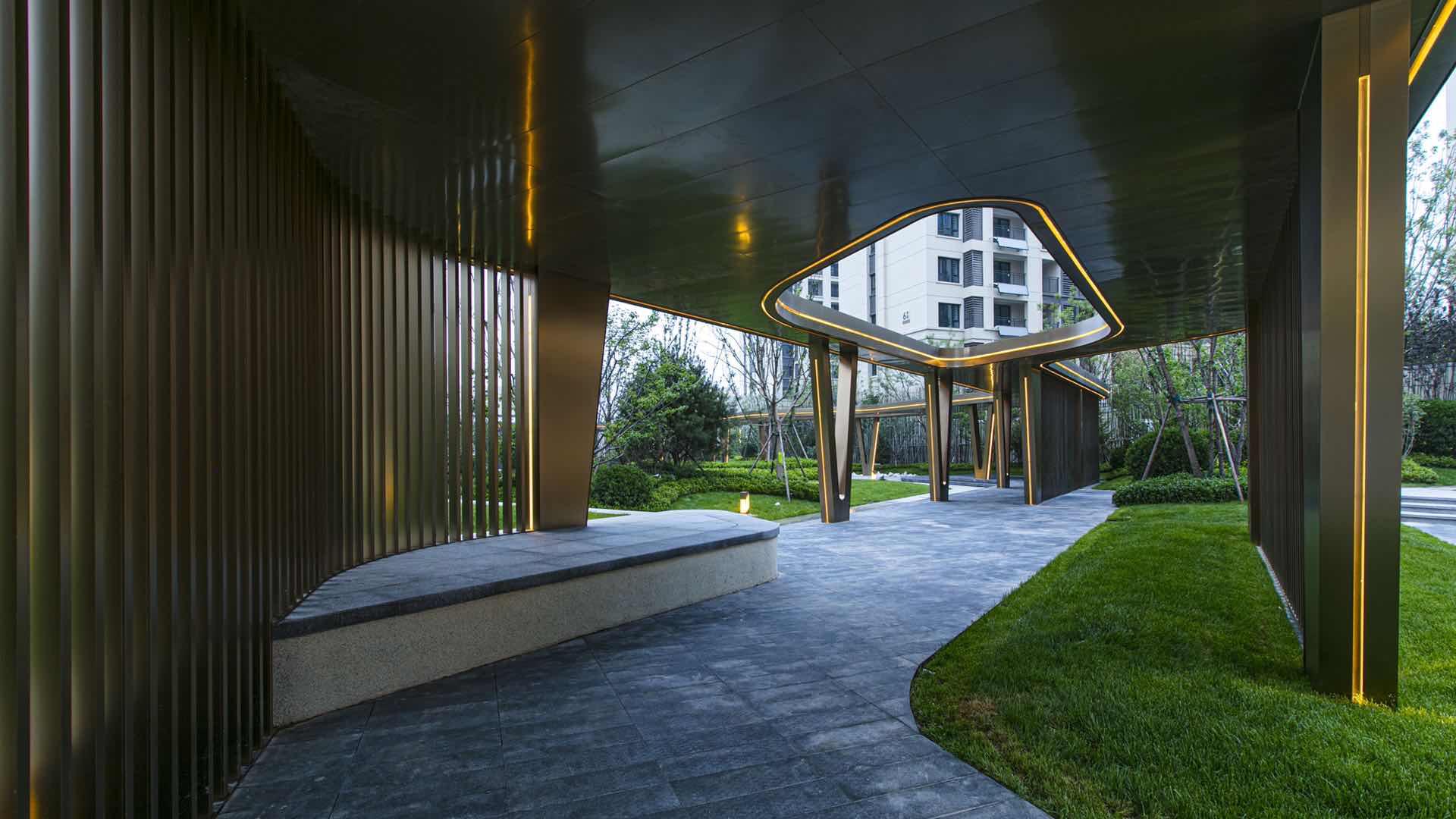 钢结构连廊
