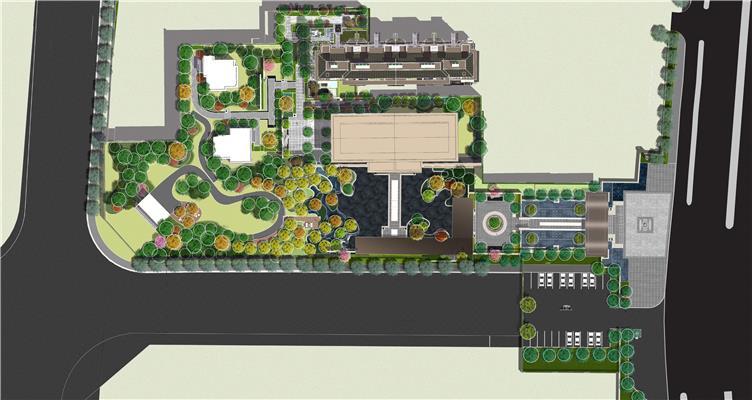 阳光城蚌埠麓山悦项目示范区景观软装