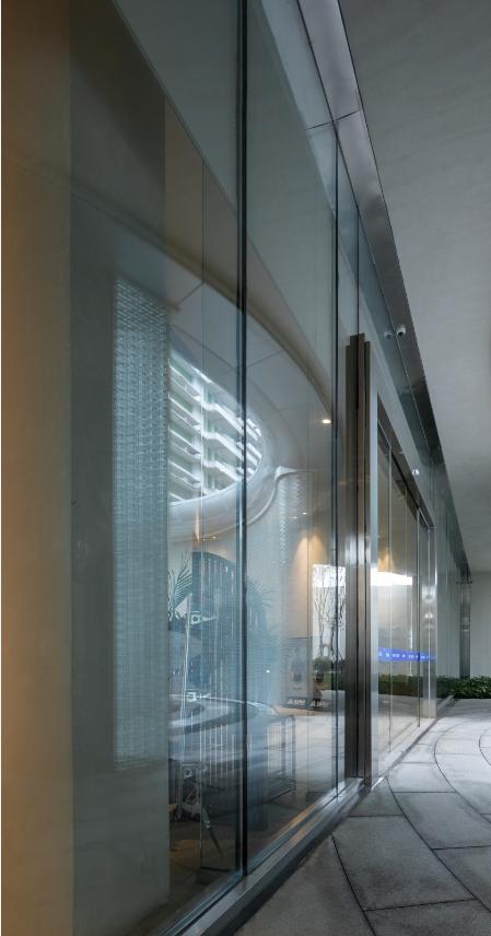 超白双层中空玻璃