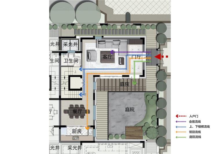 14合院清晰动线设计.jpg