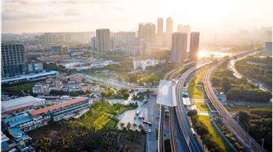 广州大坦沙门户景观提升