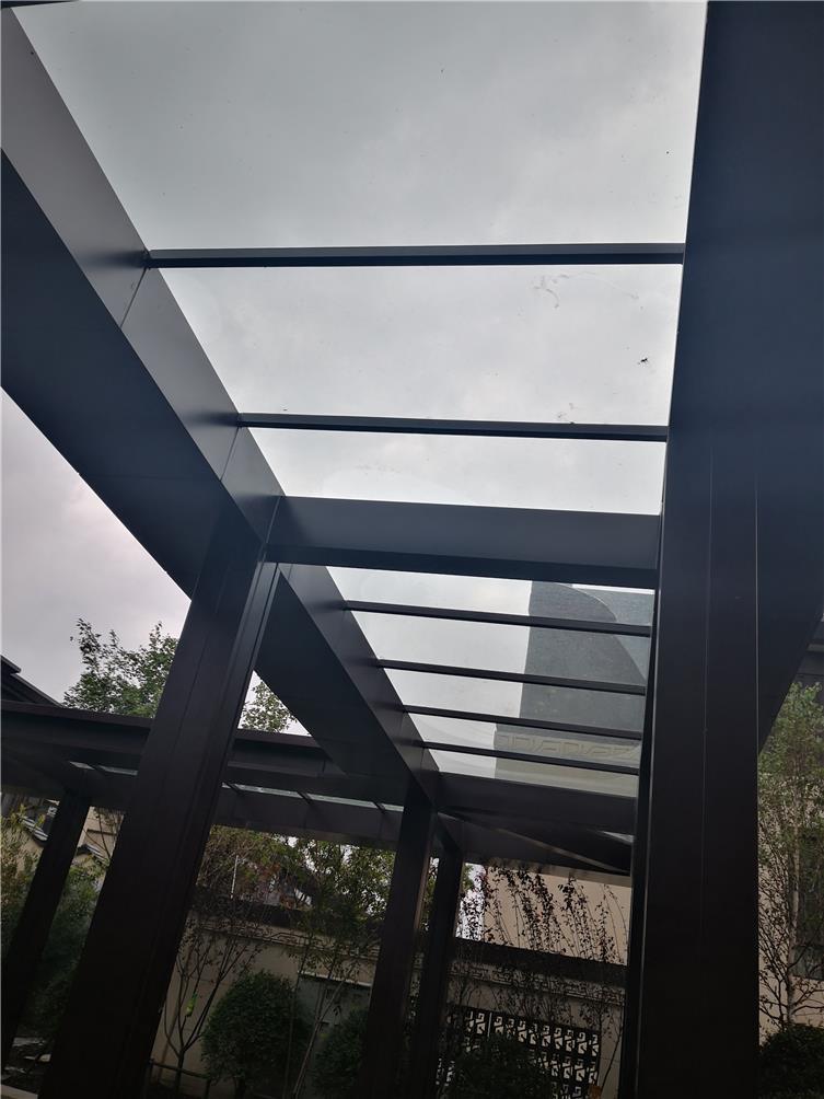 钢结构亭廊