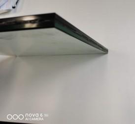 浅灰蓝钢化玻璃