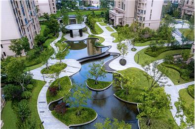 南京·绿地理想城园区景观