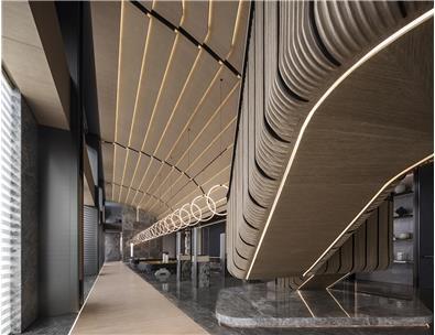 郑州裕华铁炉项目售楼处+企业展示中心