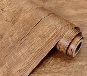 PVC木饰面墙纸