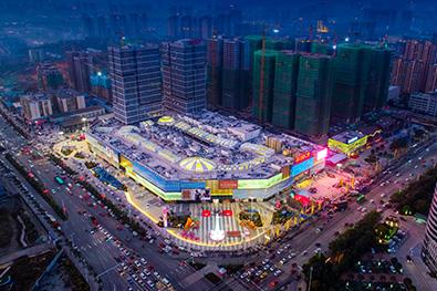 湖南怀化万达商业综合体项目
