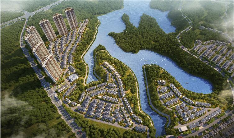 郴州雅居乐合景·南麓山居项目