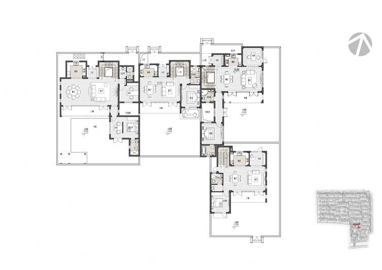 31#楼样板房 一层平面图.jpg