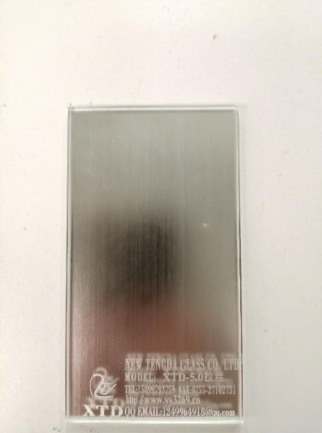 烤漆拉丝艺术玻璃