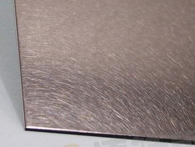 304#褐色不锈钢板,哑光面